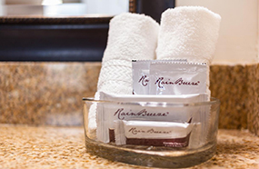 SIGNATURE TOILETRIES FOR OUR GUESTS